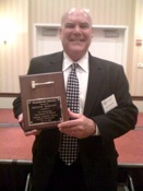 Patrick Mahaney receives Award